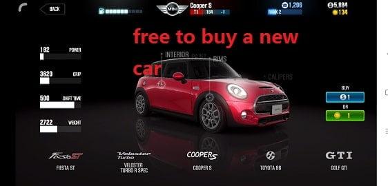 - ดาวน์โหลด CSR Racing 2 (MOD, Unlimited Money / key) ฟรีบน Android