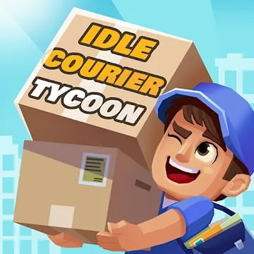Idle Courier Tycoon MOD APK 1.2.5 (Unlimited Money)